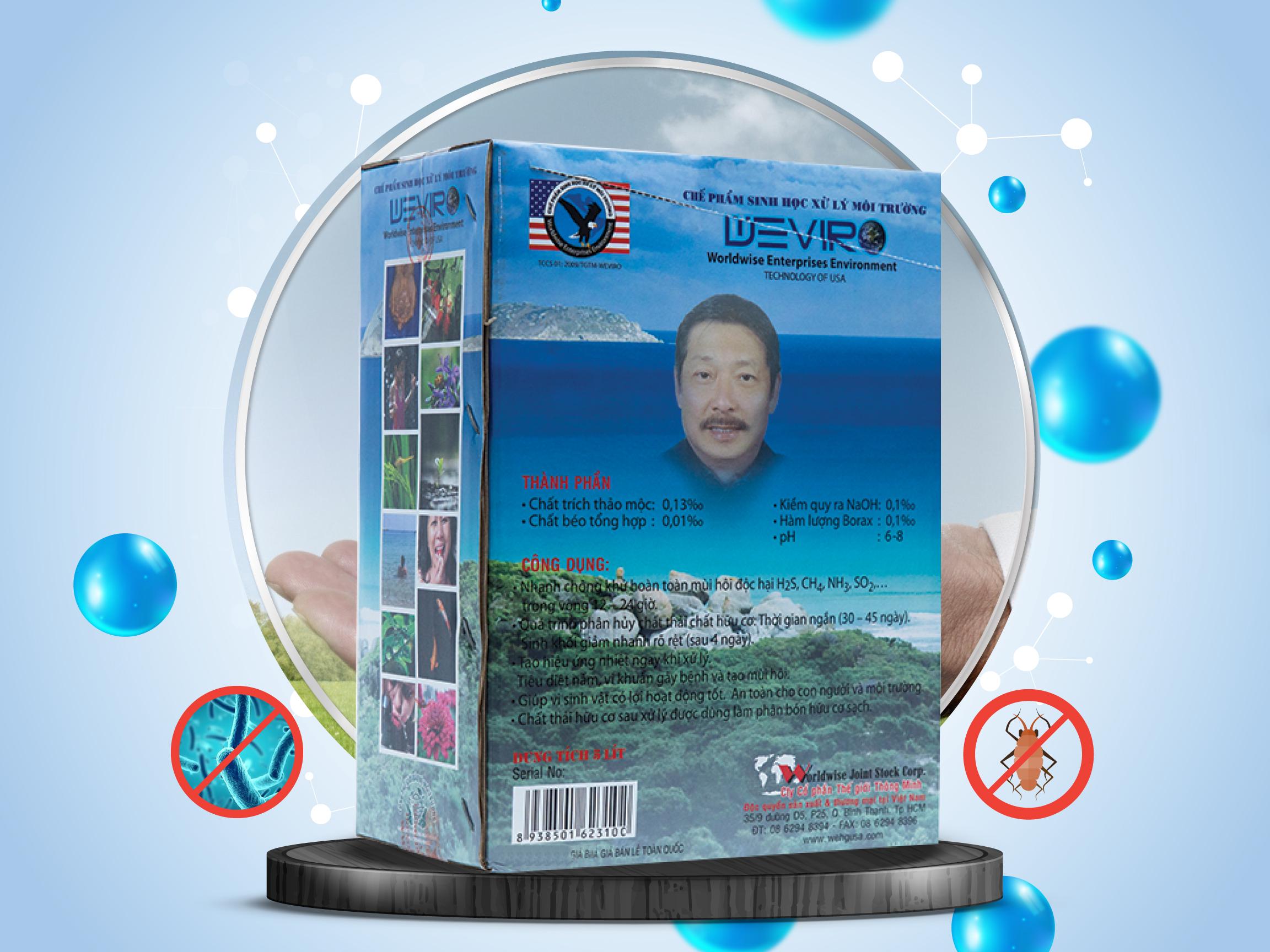 Xử lý mùi hôi, chất thải, nước thải