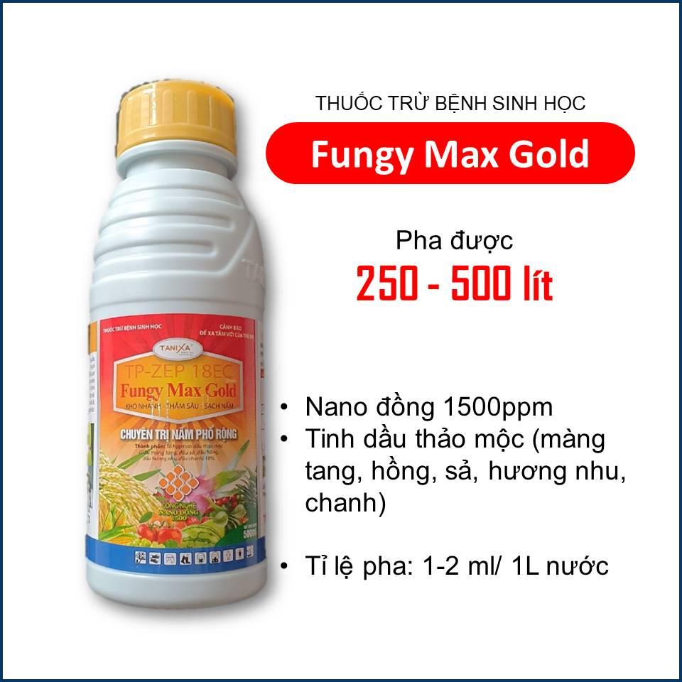 Fungy Max Gold - Thuốc sinh học trị nấm cho cây trồng